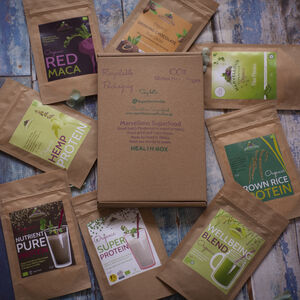 Health Box: Superfood Tasting Selection. Letterbox Gift