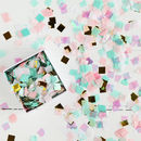 Pastel And Foil Party Confetti In A Box