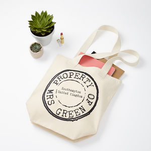 Personalised Stamp Shopping Bag - accessories sale