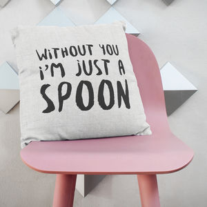 Just A Spoon Cushion - cushions