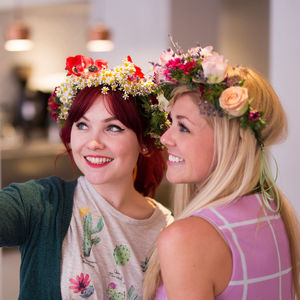 Flower Crown Workshop With Prosecco - experiences