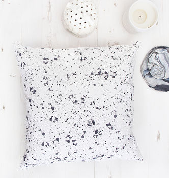 Abstract Scandinavian Confetti Pattern Cushion