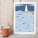 'And Now The Shipping Forecast…' Print