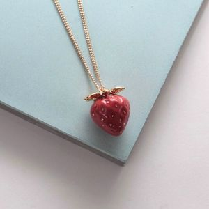Strawberry Necklace - necklaces & pendants