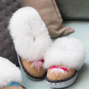 Childrens Pink Sheepers Slippers