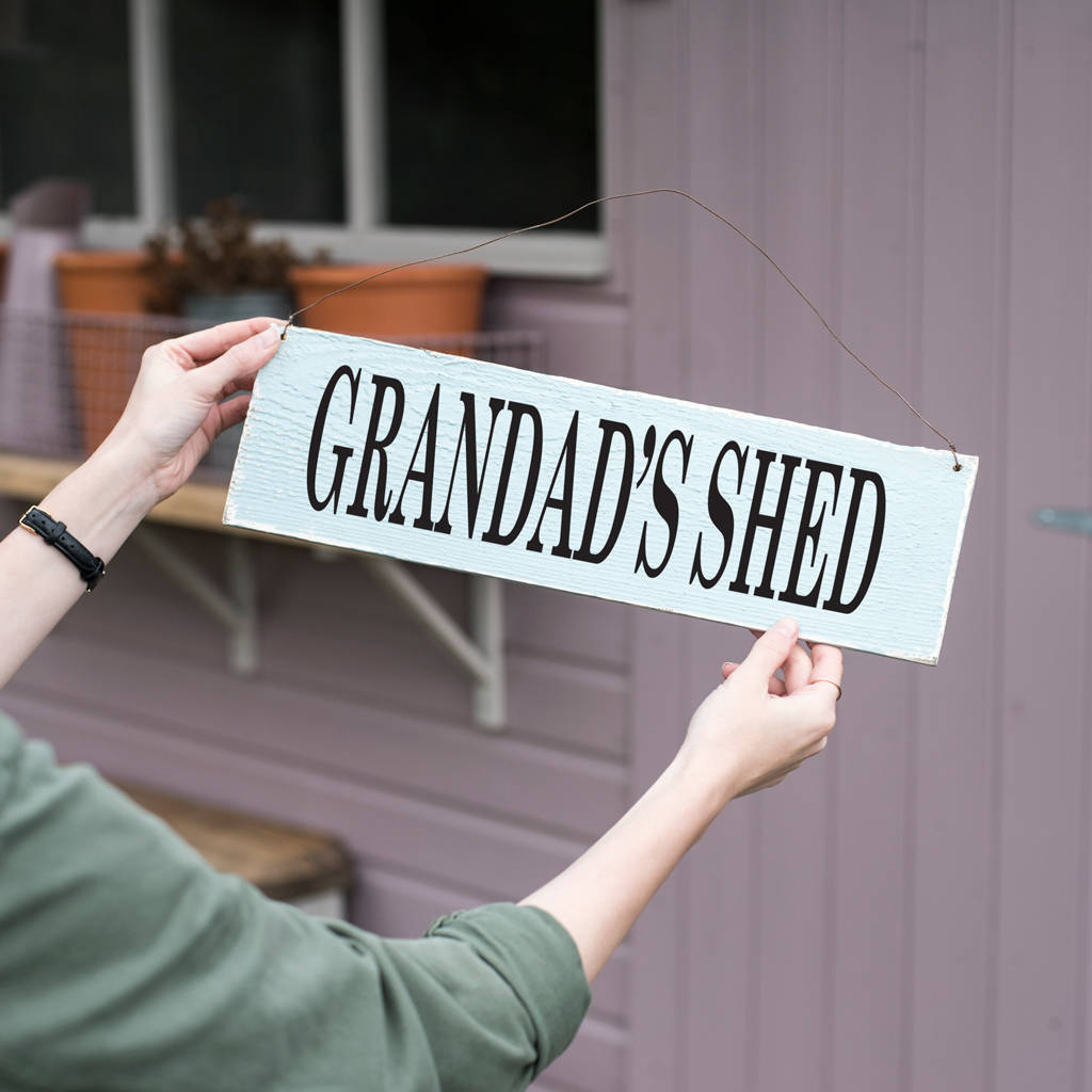 Personalised Sign For Him