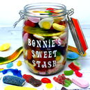 Personalised Retro Sweets Jar