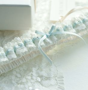 Ella Satin And Lace Garter