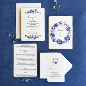 Florence Wedding Invitation Collection - wedding stationery