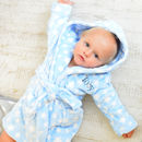 Personalised Star Soft Dressing Gown