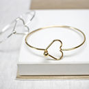 Heart Catch Bangle