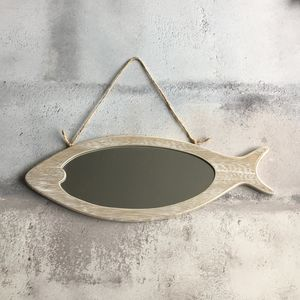 Nautical Fish Wall Mirror - mirrors
