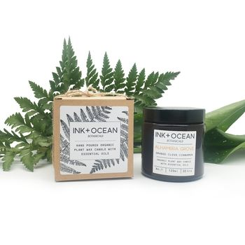 'Alhambra Grove' Aromatherapy Organic Plant Wax Candle