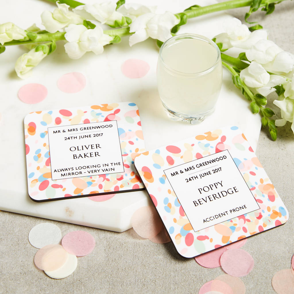 Confetti Wedding Favours For Guests Gift Favour