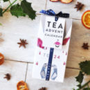 Tea Advent Calendar Chilly Willy Chai, Cranberry Apple