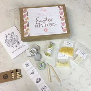 Personalised Easter Activity Box - easter holiday activities