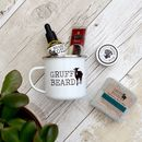 Beard Care Enamel Mug Gift Set