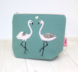 Flamingo Cosmetic Purse