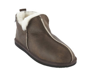Mens Oiled Sheepskin Slippers - shoes & boots