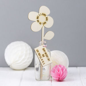 Mother's Day Family Names Personalised Flower - home accessories