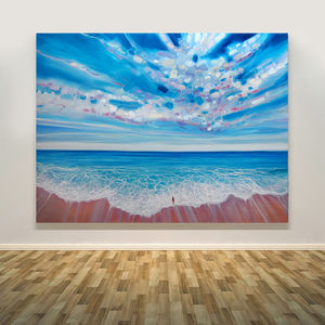 Ocean Calling Large Seascape Art - nature & landscape