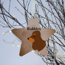Cocker Spaniel Christmas Decoration Personalised