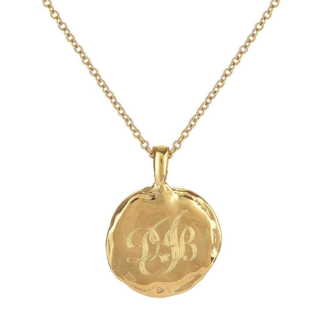 Deborah Blyth Jewellery Gold Personalised Roald Dahl Necklace hKcKhwl
