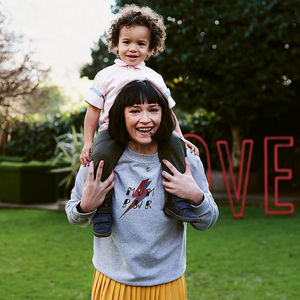 Mum Pwr Sweatshirt - gifts for mothers