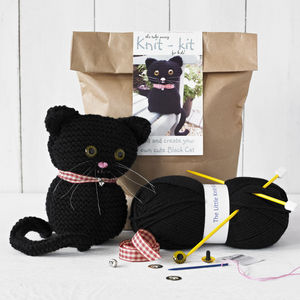 Knit Your Own Cat Kit - gifts for babies & children