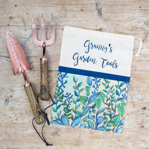 Copper Gardening Tools With Personalised Bag - garden tools