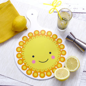 Marigold Melamine Chopping Board