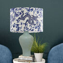 Dragon Garden Chinoiserie Lamp Shade, Cream