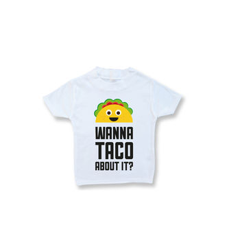 'Wanna Taco About It?' Unisex Tee