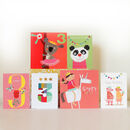 Girls' Third Birthday Card Pack