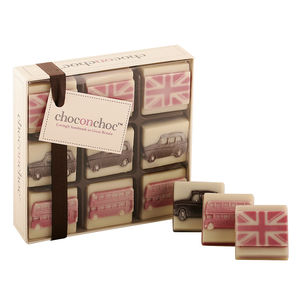 London Themed Chocolates - chocolates & confectionery