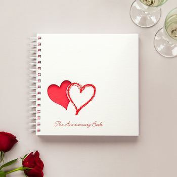 1st To 50th Wedding Anniversary Memory Book