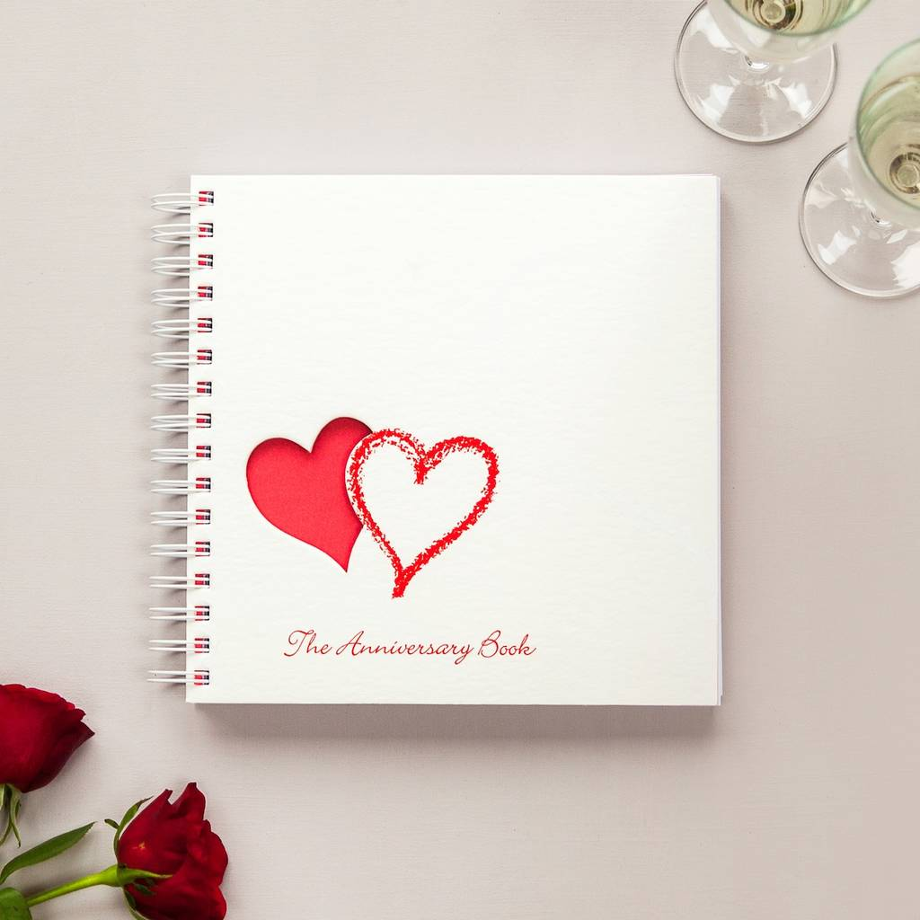 1st to 50th wedding anniversary memory book by two little for Best gift for wedding anniversary