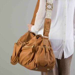 Personalised Leather Twins Baby Changing Bag - whatsnew