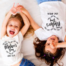 Personalised Mother's Day T Shirt
