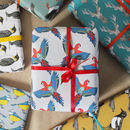 Tropical Bird Gift Wrap Pack