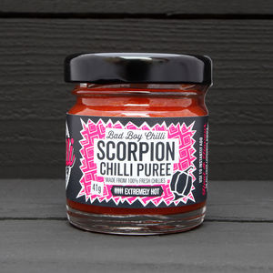 Trinidad Scorpion Chilli Purée - food gifts