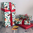 Robin Christmas Wrapping Paper