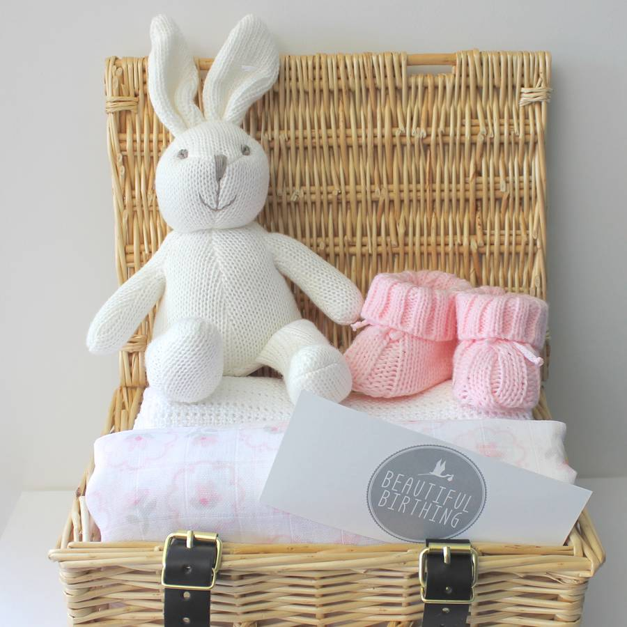 newborn baby girl hamper by beautiful birthing ...