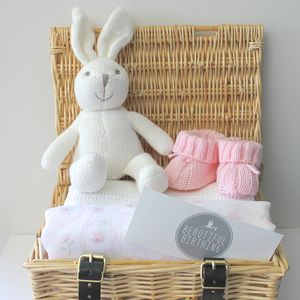 Newborn Baby Girl Hamper - baby care