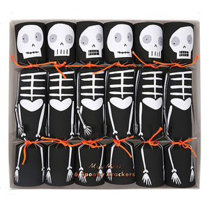 Halloween Spooky Skeleton Crackers