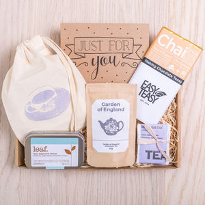 'The Tea Box' Letterbox Gift Set - tea & infusions