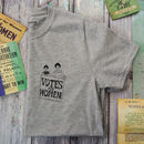 Grey Votes For Women Charity T Shirt