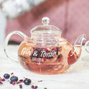 Personalised Teapot And Teacup Set