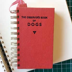 'Dogs' Upcycled Notebook