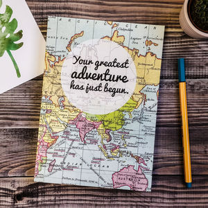 'Greatest Adventure' Wedding Planner Journal
